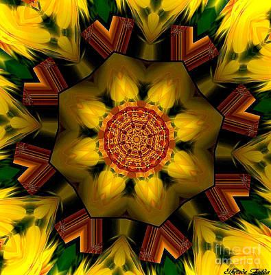 Mixed Media - Sunny by Elfriede Fulda
