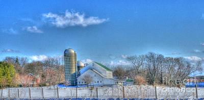 Photograph - Sunny Farm by David Bearden