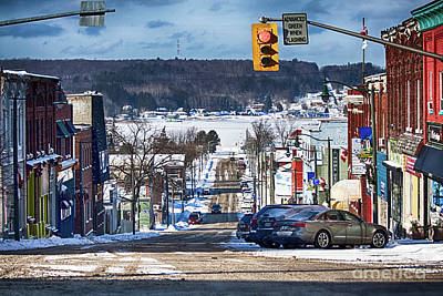Photograph - Sunny February Day In Penetanguishene, Canada by Tatiana Travelways