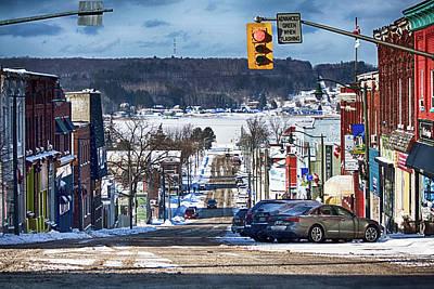 Photograph - Sunny February Day In Penetanguishene, Canada by Tatiana Travelways