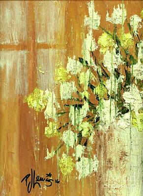 Painting - Sunny Flowers by PJ Lewis