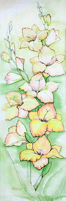 Sunny Garden Art Print