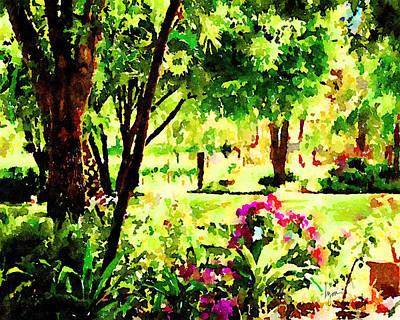 Painting - Sunny Hangout by Angela Treat Lyon