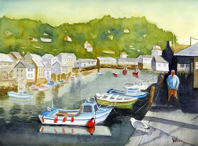 Painting - Sunny In Polperro by Brett Winn
