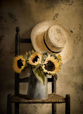 Sunny Inside Art Print by Robin-Lee Vieira