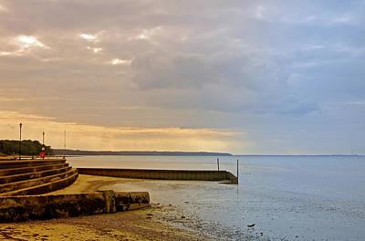 United Kingdom Photograph - Sunny Interlude On Ryde Esplanade by Rod Johnson