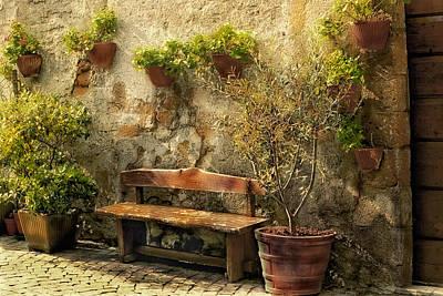 Sunny Italian Afternoon Art Print by Lynn Andrews