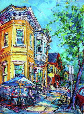 Painting - Sunny Java by Les Leffingwell