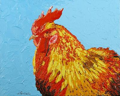 Wall Art - Painting - Sunny by Laura Gabel