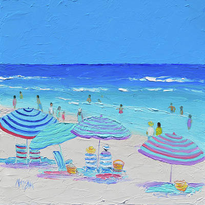 Impressionism Paintings - Sunny Life by Jan Matson
