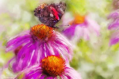 Still Life With Flowers Mixed Media - Sunny Mood by Svetlana Kovyazina