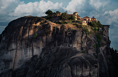 Photograph - Sunny Morning In Meteora by Jaroslaw Blaminsky