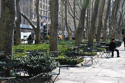 Sunny Morning In The Park Original by Rob Hans