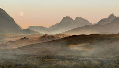 Photograph - Sunny Morning On Skye Island by Jaroslaw Blaminsky