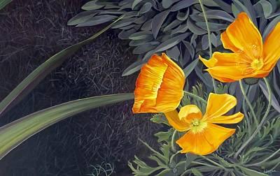 Painting - Sunny Mystery by Hunter Jay