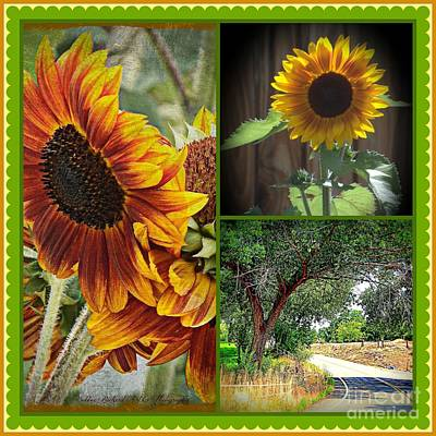 Photograph - Sunny N Cheery Quilt Design by Bobbee Rickard