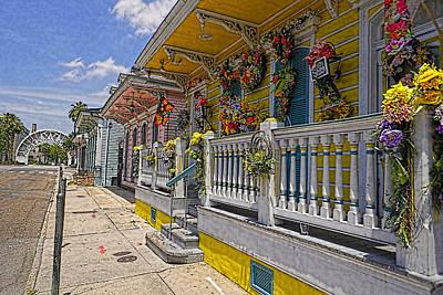 Sunny On St. Ann Street Original by Anthony Walker Sr