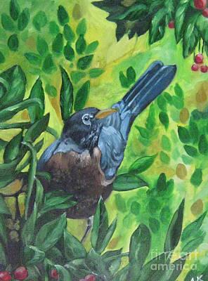 Sunny Place Art Print by Akhilkrishna Jayanth