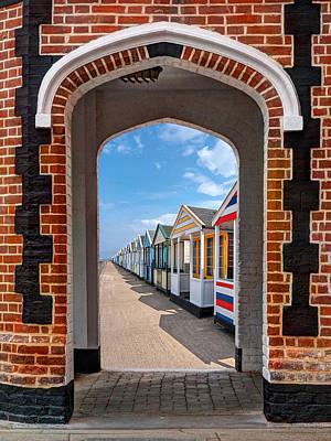 Photograph - Sunny Promenade by Gill Billington