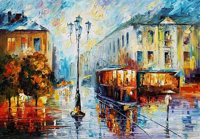 Sunny Rain Original by Leonid Afremov