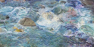 Sunny River --- The Tao Art Print