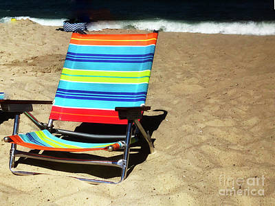 Photograph - Sunny Seat by Rick Locke