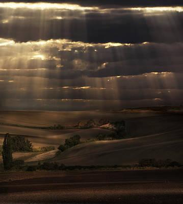 Photograph - Sunny Shower by Jaroslaw Blaminsky
