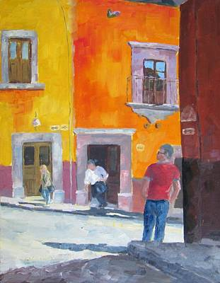 Sunny Side Of The Street 2 Original by Susan Richardson