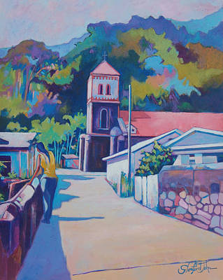 Painting - Sunny Soufriere by Glenford John