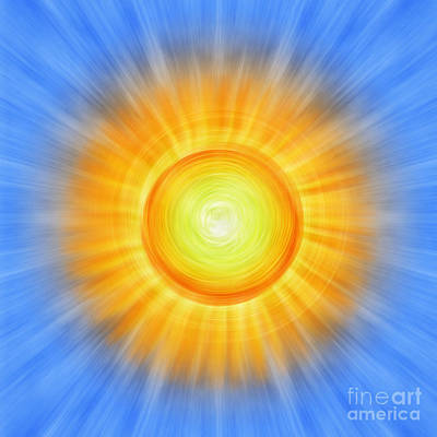 Sun Rays Digital Art - Sunny by Tim Gainey