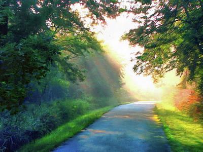 Photograph - Sunny Trail by Cedric Hampton