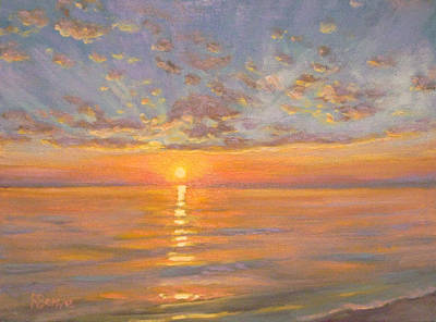 Painting - Sunny Waves by Robie Benve