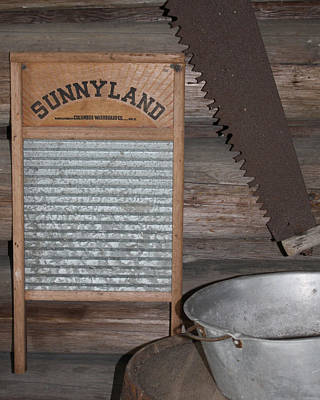 Old Washboards Photograph - Sunnyland by Dana  Oliver