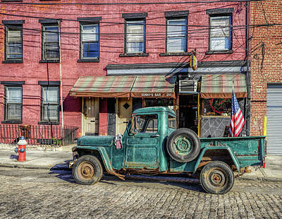 Photograph - Sunny's Bar Brooklyn Usa by Jeffrey Friedkin