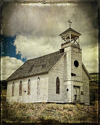 Photograph - Sunnyside Chapel by Lana Trussell
