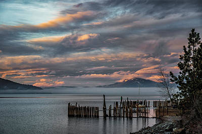 Photograph - Sunnyside Winter Sunrise by Albert Seger