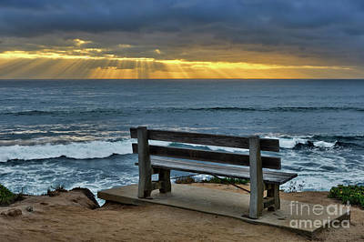 Photograph - Sunrays On The Horizon by Eddie Yerkish