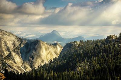 Photograph - Sunrays Over Yosemite National Park by RicardMN Photography