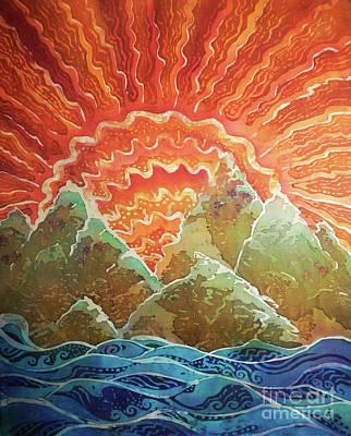 Painting - Sunrays by Sue Duda
