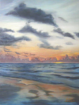 Painting - Sunrise 02 by Adam Johnson