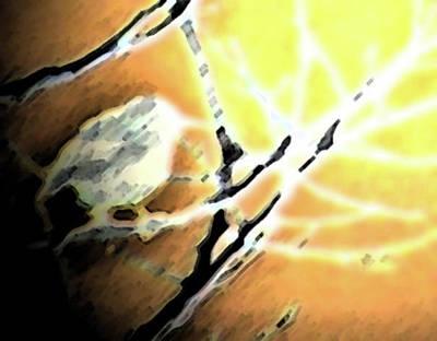 Starlings Digital Art - Sunrise 1 by Lenore Senior