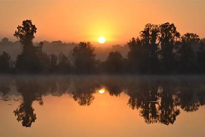 Photograph - Sunrise 103116 by rd Erickson