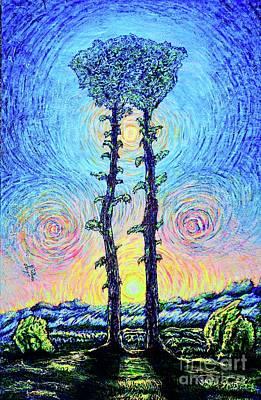 Painting - Sunrise 2/2 by Viktor Lazarev
