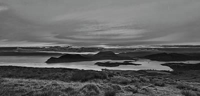 Photograph - Sunrise 2 Valentia Island Bw #f2 by Leif Sohlman