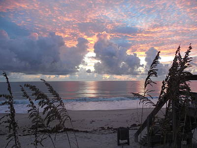 Photograph - Sunrise 2 Vero Beach by Carol Knapp
