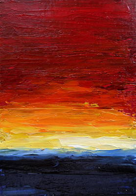 Painting - Sunrise #22 by Fred Wilson