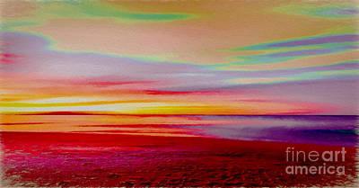 Digital Art - Sunrise 4 by Ed Churchill