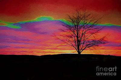 Digital Art - Sunrise 5 by Ed Churchill