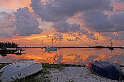 Photograph - Sunrise - A Moody Morning by HH Photography of Florida