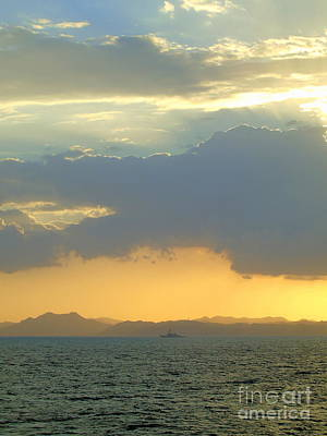 Sunrise After The Typhoon Art Print